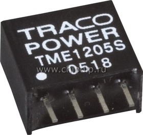 TME 0509S, DC/DC преобразователь, 1Вт, вход 4.5-5.5В, выход 9В/110мА