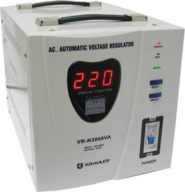 VR-N3000VA, Стабилизатор напряжения релейный, 220В, 3000ВА