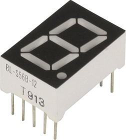 BL-S56B-12UY, Индикатор желтый 12.60х19.00мм 38мКд, общий анод
