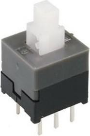 Фото 1/2 PS850L, Кнопка миниатюрная без фиксации 8.5мм (30В 0.3А)