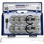 Фото 2/2 DREMEL SC690, Набор отрезных кругов SpeedClic (10 шт+держатель)