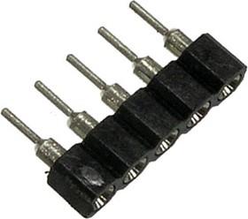 Фото 1/2 SCSL- 5 (DS1002-01-5), Панелька однорядная цанговая 5 конт.