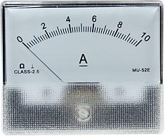 MU-52E, Измерительная головка 0-10А постоянного тока