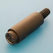 Фото 1/2 DIN розетка 6 контактов на кабель