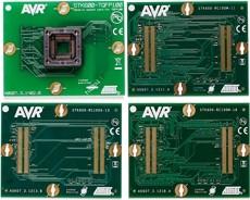 ATSTK600-TQFP100 (ATSTK600-SC03), Дочерний модуль с ZIF-сокетом под корпус TQFP100 для ATSTK600