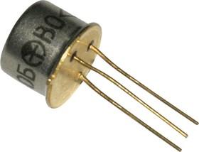 КТ630Б, Транзистор NPN 120В 1А 0,8Вт 50МГц TO-39 (КТ-2)