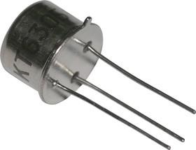 КТ630Б никель, Транзистор NPN 120В 1А 0,8Вт 50МГц TO-39 (КТ-2)