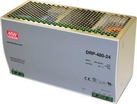 DRP-480-24, Блок питания, 24B,20A,480Вт