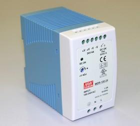 MDR-100-24, Блок питания, 24В,4А,96Вт