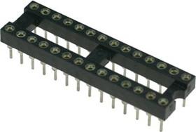 TRS-28 (SCSM-28) (DS1001-01-28N), DIP панель 28-контактная цанговая узкая