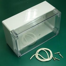 G2111С, Корпус для РЭА 200х120х90мм, пластик, с прозрачной крышкой