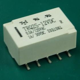 TRQ2S-12VDC сигнальное реле 12В, 1А, SMD-10