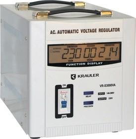Фото 1/2 VR-S3000VA, Стабилизатор напряжения электромеханический, 220В, 3000ВА