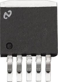 Фото 1/4 LM2596S-ADJ/NOPB, Импульсный понижающий регулятор напряжения с регулировкой выхода, 3А, 150кГц, 1.2В…37В, [TO-263-5]