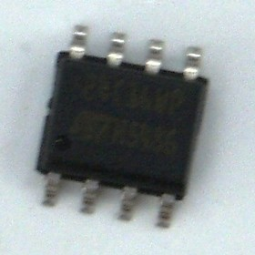 M24C16-WMN6TP, Микросхема памяти EEPROM 16KBIT 400KHZ [SO-8]
