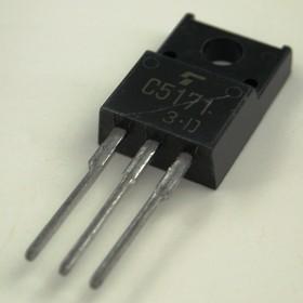 2SC5171, Транзистор NPN 180 В 2 А, (2-10R1A), [TO-220F]