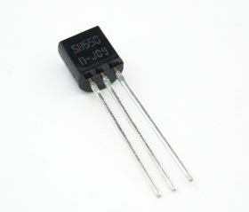 Фото 1/4 SS8550DBU, Транзистор PNP 25В 1.5А 200МГц [TO-92]