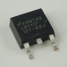 Фото 1/3 LM1117IDT-ADJ/NOPB, Линейный регулятор с низким падением напряжения, версия с регулировкой выходного напряжения