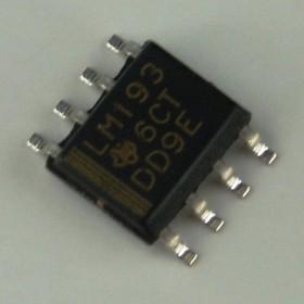 LM193DR, Двойной дифференциальный компаратор, маломощный, с малым напряжением смещения [SO-8]