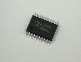 ADG3308BRUZ, 8-ми канальный двунаправленный переводчик логического уровня, 1.2...5.5В [TSSOP-20]