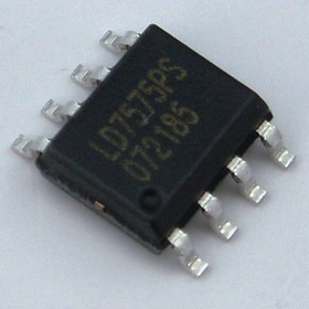 LD7575PS, Высоковольтный ШИМ-контроллер со схемой мягкого запуска, [SO-8]