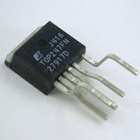 Фото 1/2 TOP247FN, ШИМ-контроллер Off-line PWM switch, 55-85Вт [TO-262-7]