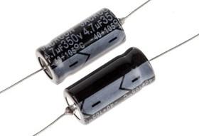 RS475-350-AL, AXIAL AL CAP, 4.7UF, 350V