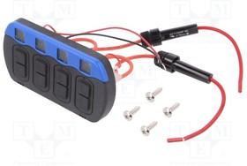 PR18-H4A-242A32AA, Переключатель кнопочный DC