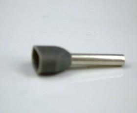 Фото 1/2 TIC2-0.75-10, Наконечник 10мм для обжима двух многожильных кабелей 0,75мм, изолированный, кратно 100шт.