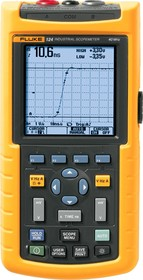 Fluke 124/s (Госреестр),  Осциллограф-мультиметр, 2 канала x 40МГц + SCC