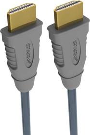 SG1141, Шнур HDMI вилка - HDMI вилка, GOLD, с ф/фильтрами, 3м