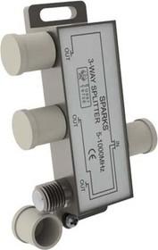 SN1075, Разветвитель антенный на 3ТВ, 5-1000 мгц
