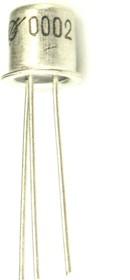КТ3102Д, Транзистор NPN, высокочастотный, малой мощности, КТ-17