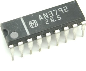 AN3792, Серво-привод головочного двигателя видеомагнитофона (БВГ)