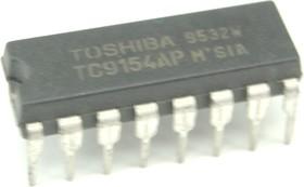 TC9154AP, 2-х канальный электронный регулятор громкости, -66дБ…2дБ, 12В