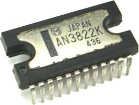 AN3822К, Драйвер управления ведущим двигателем (Capstan), видеомагнитофоны