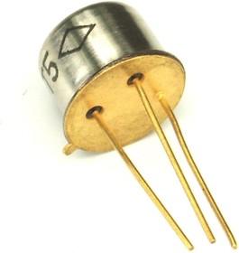 2Т504А (2N5663), Транзистор N-P-N 400В 1А 10Вт 20Мгц TO39
