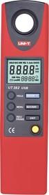 Фото 1/2 UT382, Измеритель освещенности, люксметр (USB)
