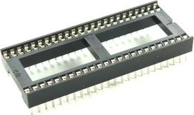 Фото 1/2 ICSS-48 (DS1010-48W), DIP панель 48-контактная шаг 1.778мм широкая