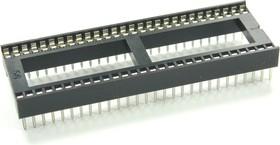 Фото 1/2 ICSS-56 (DS1010-56W), DIP панель 56-контактная шаг 1.778мм широкая