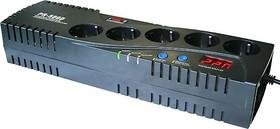 VR-PR500D, Стабилизатор напряжения релейный, 220В, 500ВА/300Вт