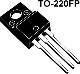 STP5NK60ZFP, Транзистор, Zener-Protected SuperMESH, N-канал, 650В, 5А, 1.2Ом [TO-220FP]
