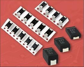 Фото 1/2 ECAS, 100 мкФ, 6.3 В, 7.3х4.3х1.9мм, 20%, ECASD40J107M015K, Конденсатор электролитический полимерный