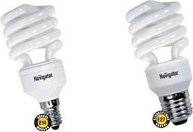 Фото 1/2 NCL-SH10-15-827-E14 (94043), Лампа энергосберегающая 15Вт,2700K,E14
