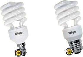NCL-SFW(SH)10-15-860-E14 (94044), Лампа энергосберегающая 15Вт,6400K,E14