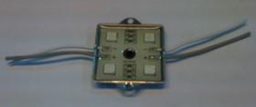 TLS-SMD-S32A-5050UGC, Светодиодный модуль ультра-зеленый 12В 574нМ