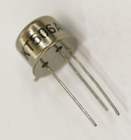 КТ506А никель (BUX54), Транзистор NPN 800В 2А 10Вт 10МГц TO-39 (КТ-2)