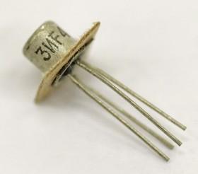 КП303И никель, Транзистор, N-канал [КТ-112]