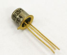 КП103М, Транзистор, Р-канал, малой мощности [КТ-17]