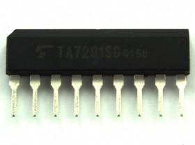 TA7291S (G), Мостовой драйвер с контролем выходного напряжения, [SIP-9-P-2.5A]